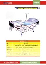12. Hospital bed 3 crank complete