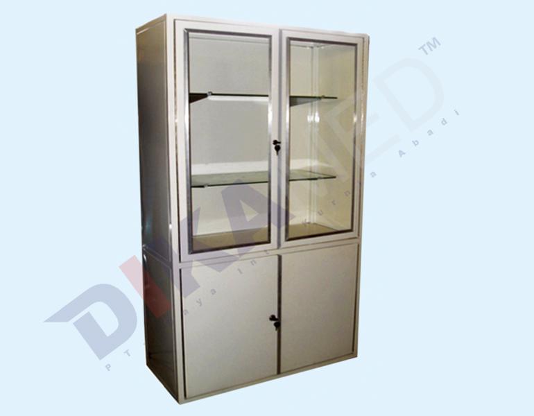 MEDICINE CABINET DOUBLE DOOR DKM 1-640 PC | DIKAMED | Alat ...